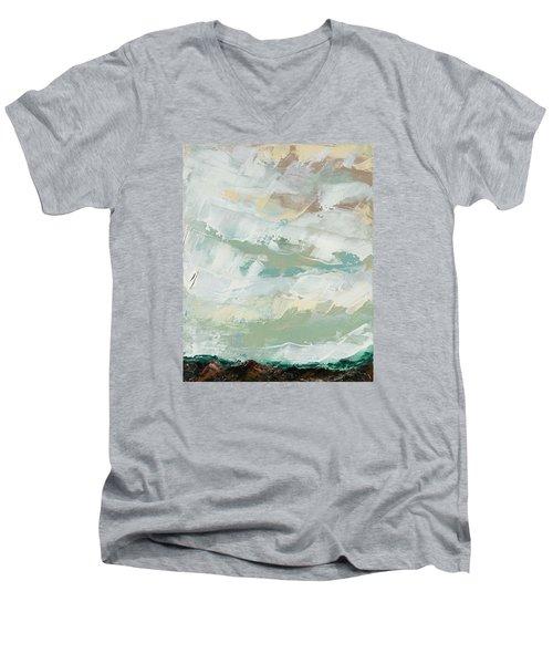 Kiss Men's V-Neck T-Shirt by Nathan Rhoads