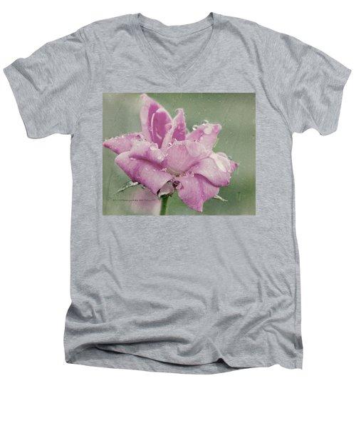 Kissed By The Rain Men's V-Neck T-Shirt