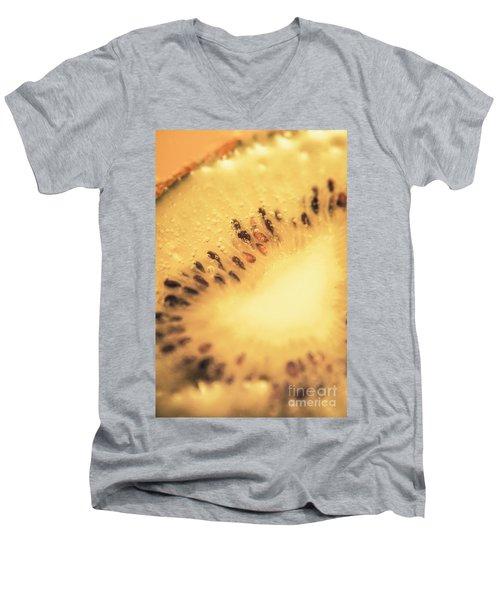 Kiwi Margarita Details Men's V-Neck T-Shirt by Jorgo Photography - Wall Art Gallery