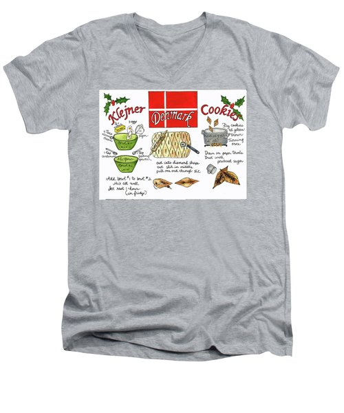Klejner Cookies Men's V-Neck T-Shirt