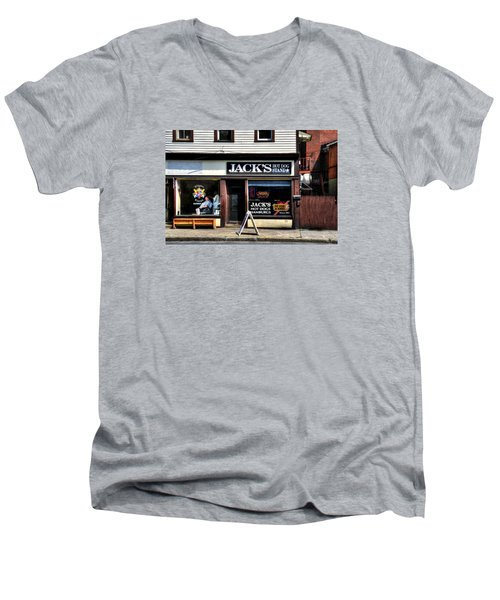 Klipper Kingz - Barber Shop Men's V-Neck T-Shirt