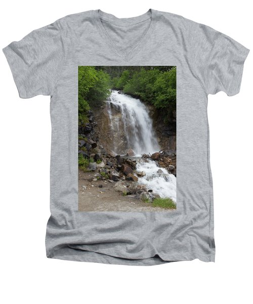 Klondike Waterfall Men's V-Neck T-Shirt