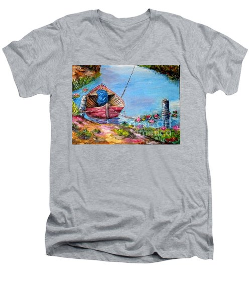 Klotok 2 Men's V-Neck T-Shirt