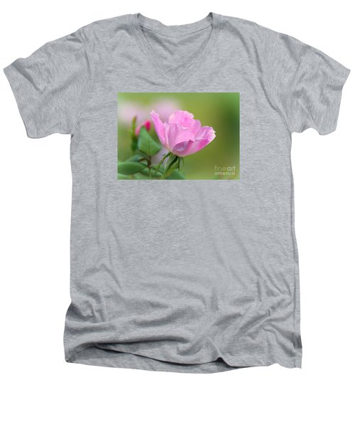 Men's V-Neck T-Shirt featuring the photograph Knock Out by Lisa L Silva
