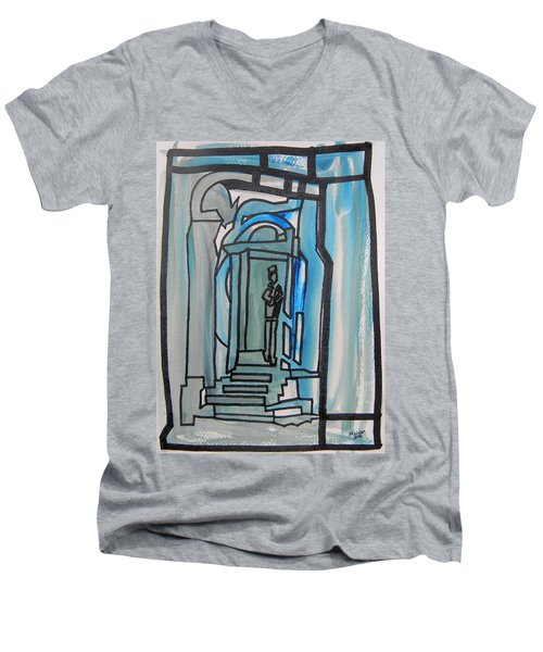 Knocking On Heaven's Door Men's V-Neck T-Shirt