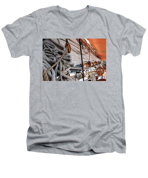 Knot A Problem Men's V-Neck T-Shirt