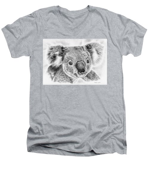 Koala Newport Bridge Gloria Men's V-Neck T-Shirt by Remrov