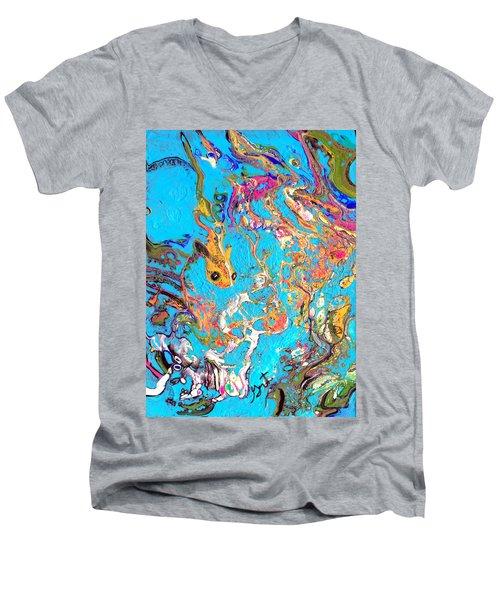 Koi Men's V-Neck T-Shirt