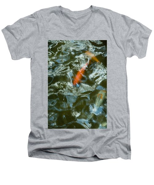 Koi I Men's V-Neck T-Shirt