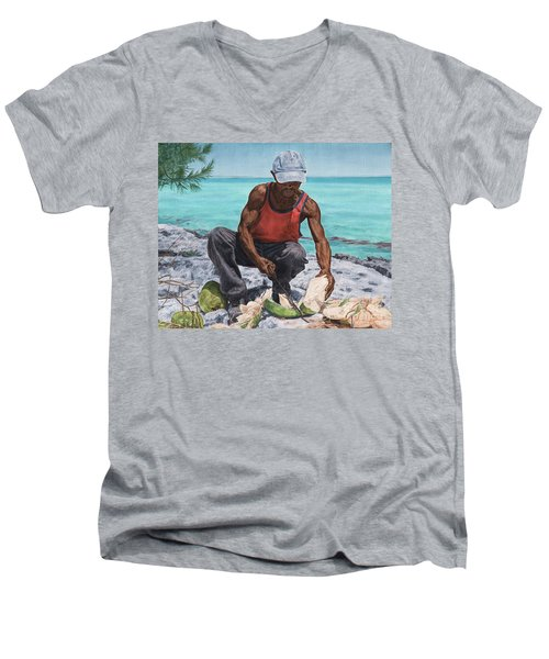 Kokoye I Men's V-Neck T-Shirt