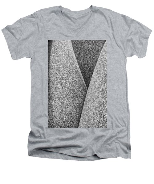 Kontinuitat By Max Bill. Men's V-Neck T-Shirt