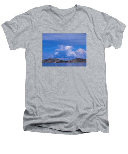 Kornati National Park Men's V-Neck T-Shirt by Jouko Lehto