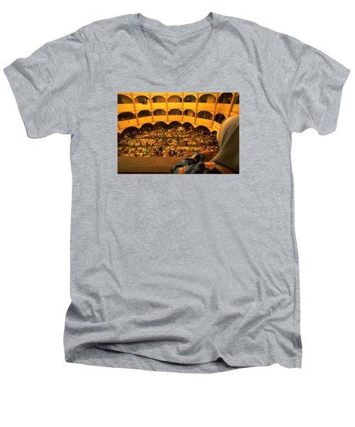 Kota Bahru Indoor Market Men's V-Neck T-Shirt