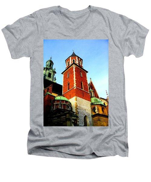 Krakow Poland Men's V-Neck T-Shirt