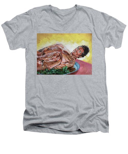 Kramer Turkey Men's V-Neck T-Shirt