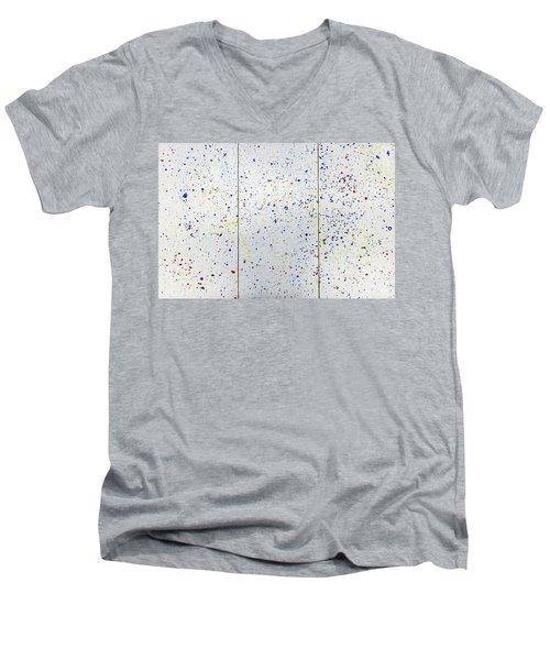 Krno3 Men's V-Neck T-Shirt by Ryuji Kogachi