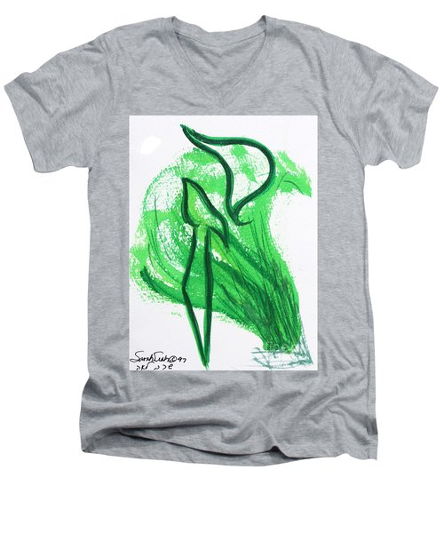 Kuf In The Reeds Men's V-Neck T-Shirt