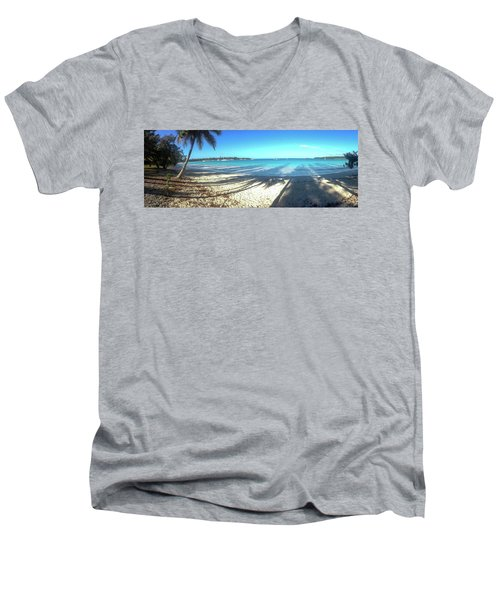 Kuto Bay Morning Men's V-Neck T-Shirt
