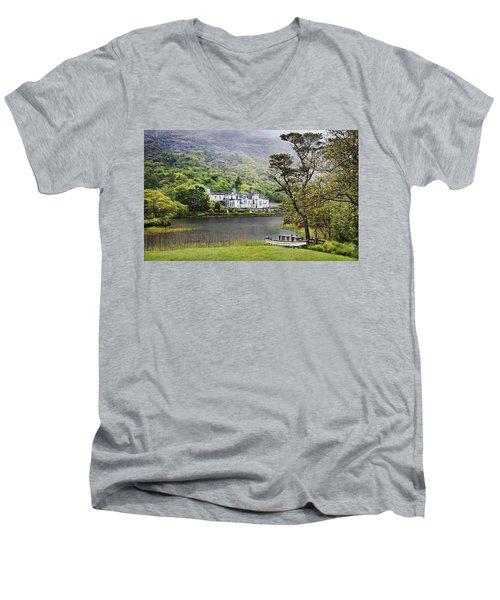 Kylemore Castle Men's V-Neck T-Shirt