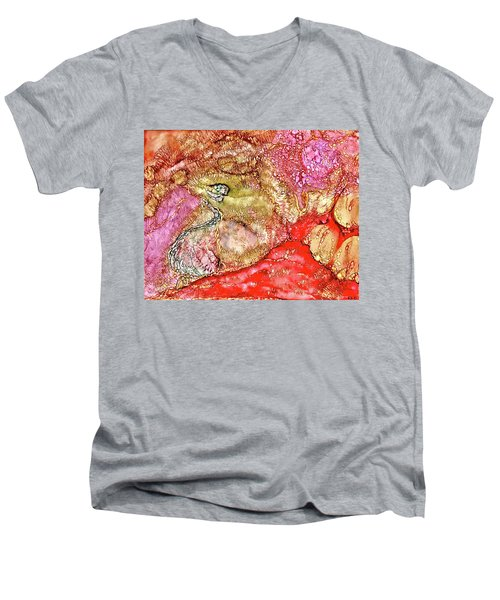 Kyoto Spring Men's V-Neck T-Shirt