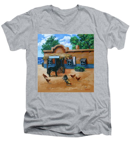 La Cantina Men's V-Neck T-Shirt