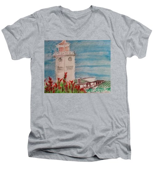 La Farmer's Market Men's V-Neck T-Shirt