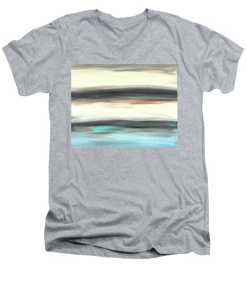 La Jolla #2 Seascape Landscape Original Fine Art Acrylic On Canvas Men's V-Neck T-Shirt