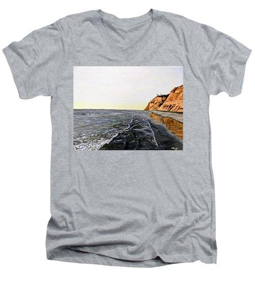 La Jolla Shoreline Men's V-Neck T-Shirt