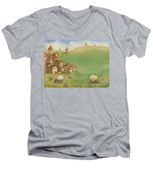 La Mancha Men's V-Neck T-Shirt
