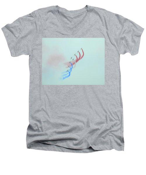 La Patrouille De France Men's V-Neck T-Shirt