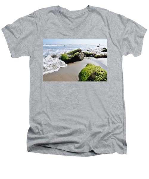 La Piedra Shore Malibu Men's V-Neck T-Shirt