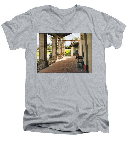 La Purisima Long View Men's V-Neck T-Shirt
