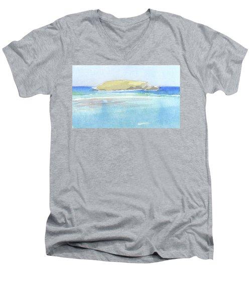 La Tortue, St Barthelemy, 1996_0046 60x35 Cm Men's V-Neck T-Shirt