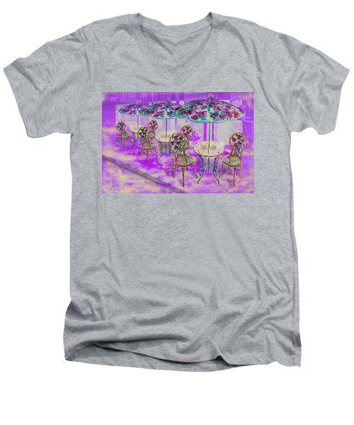 La Ville Lumiere Men's V-Neck T-Shirt