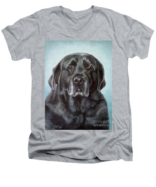 Labs Are The Most Sincere Men's V-Neck T-Shirt