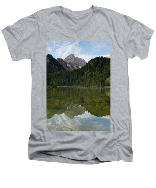 Lac Des Plagnes Men's V-Neck T-Shirt