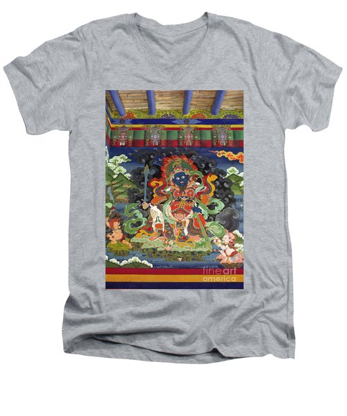 Ladakh_17-8 Men's V-Neck T-Shirt