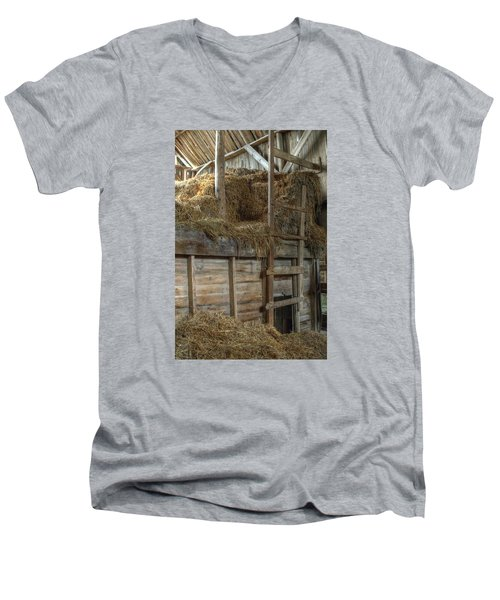 Ladder To The Loft Men's V-Neck T-Shirt