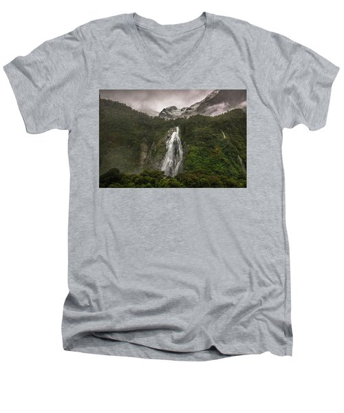 Lady Bowen Falls Men's V-Neck T-Shirt