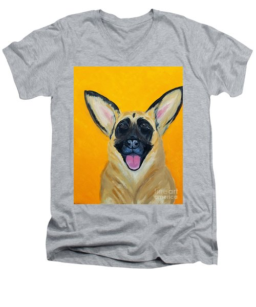 Lady Date With Paint Nov 20th Men's V-Neck T-Shirt
