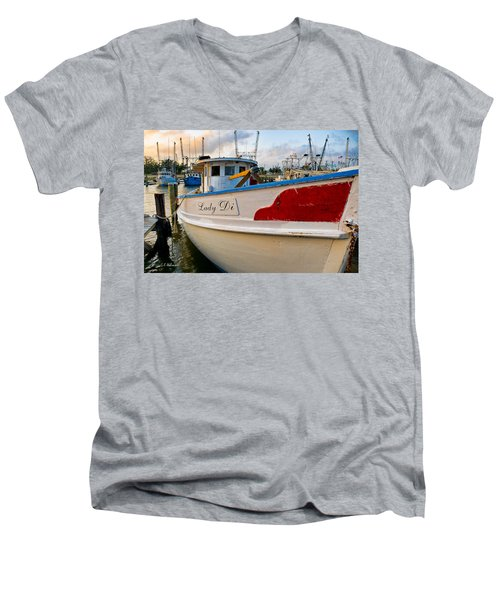 Lady Di Men's V-Neck T-Shirt