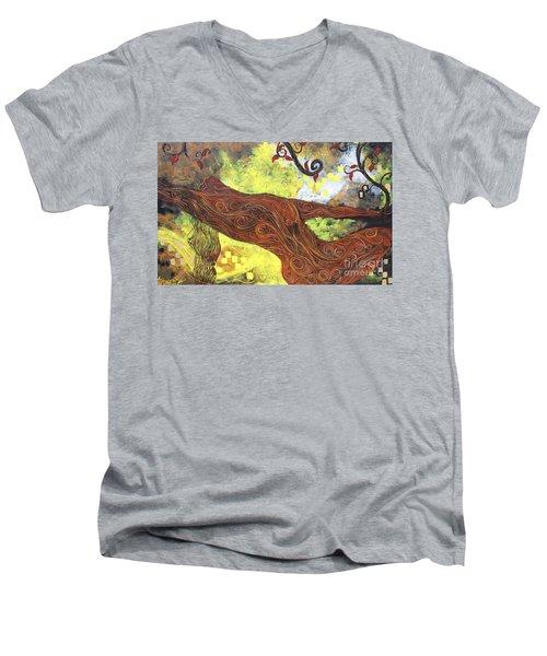 Lady Of Elation Men's V-Neck T-Shirt