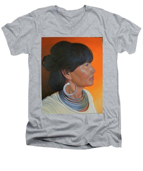 Lady Of Sapa Men's V-Neck T-Shirt