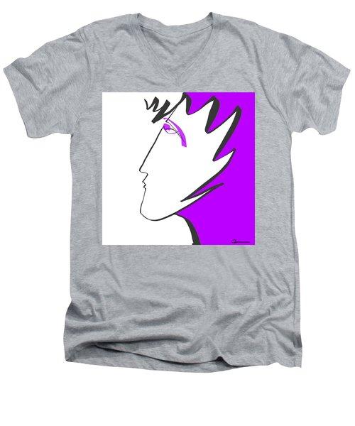 Ladyfingers Men's V-Neck T-Shirt
