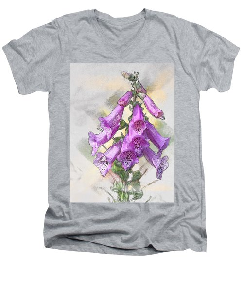 Lady's Glove Men's V-Neck T-Shirt