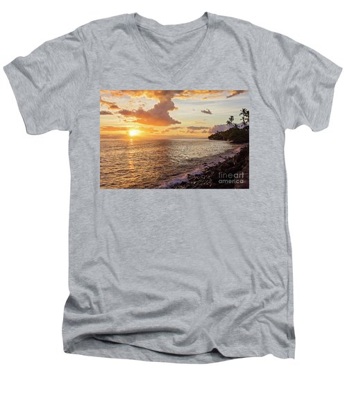 Lahaina Sunset Men's V-Neck T-Shirt