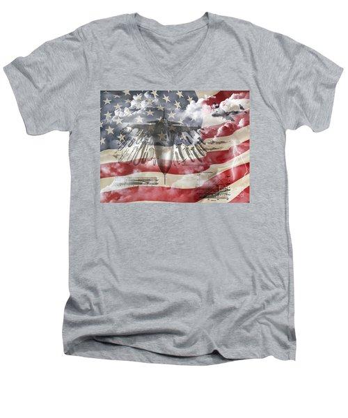 Laid Out  Men's V-Neck T-Shirt