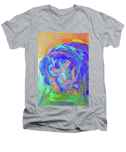 Laila The Lab Men's V-Neck T-Shirt