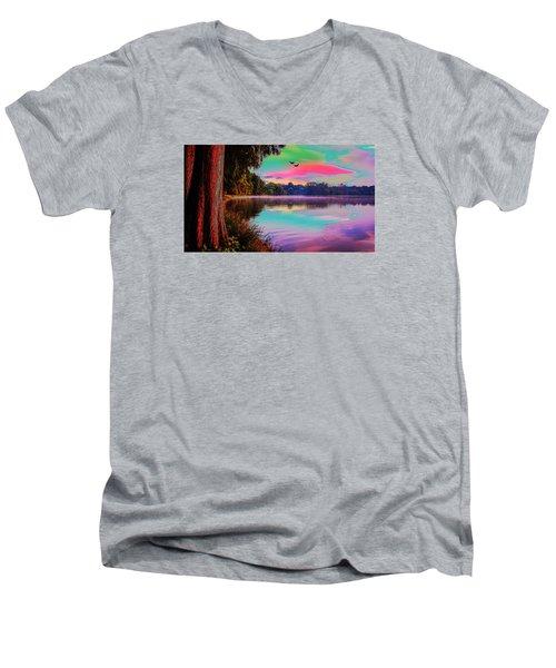 Lake 5 Men's V-Neck T-Shirt