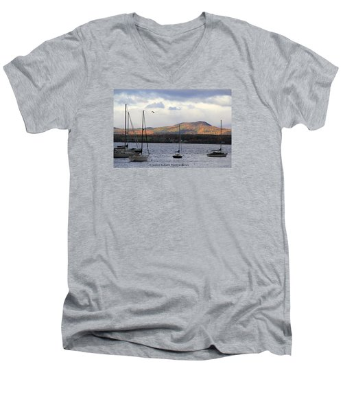 Lake Champlain Men's V-Neck T-Shirt